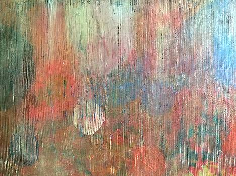 Abstract Confetti by Paula Brown