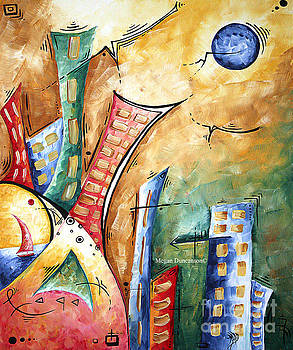 Abstract Contemporary Painting Childrens Room Art Pastel Dreams by Megan Duncanson by Megan Duncanson