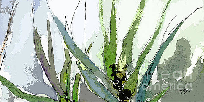 Ginette Callaway - Abstract Cool Color Sonata 1