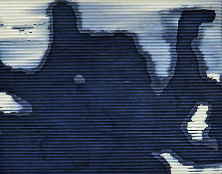 Abstract Cyanotype by Lisa Shea