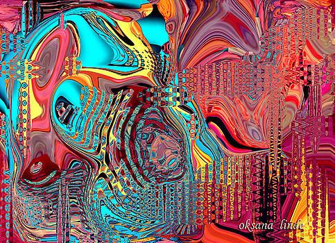 Abstract DO75 by Oksana Linde
