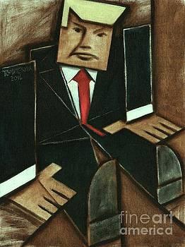 Tommervik Abstract Donald Trump Art Print by Tommervik