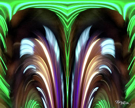 Abstract Exciting #0609_1a by Barbara Tristan