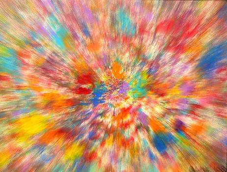 Abstract Explosion by Barb Montanye Meseroll