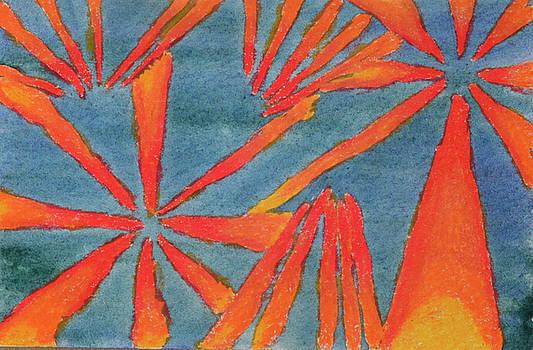Abstract Fireworks by Lisa Von Biela