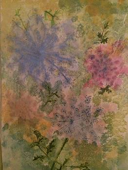 Abstract flower 4 by Katherine Berlin