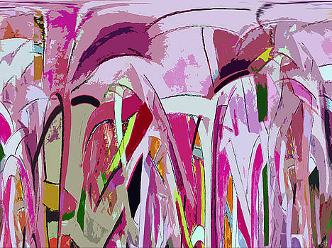Abstract Flower Garden I by Anne Hamilton