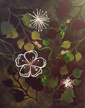 Abstract Flowers by Ashley Warbritton