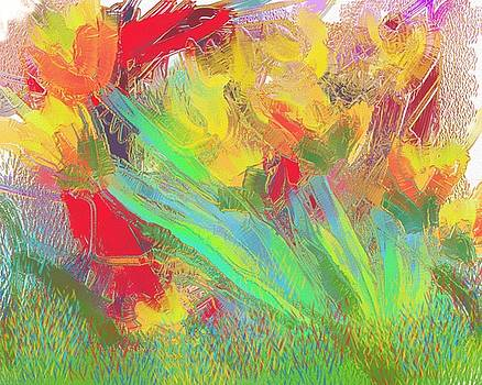 Abstract Flowers by Harry Dusenberg