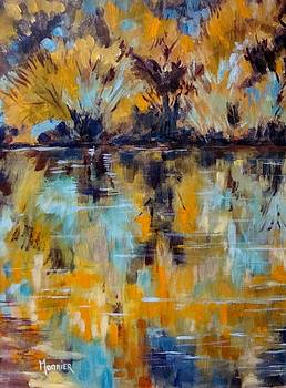 Cathy MONNIER - abstract from reflections