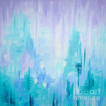 Abstract Frost 1 by Julia Underwood
