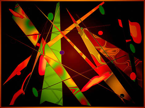 Abstract Future Visions by Mario Carini