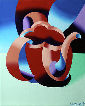Abstract Futurist Teapot by Mark Webster