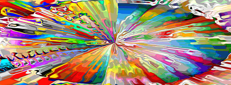 Mary Clanahan - Abstract Glass Glee