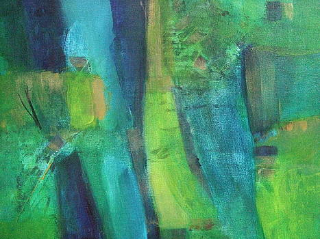 Abstract Green by Janet Visser