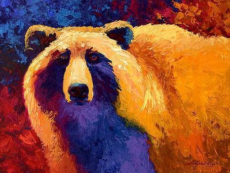 Marion Rose - Abstract Grizz II