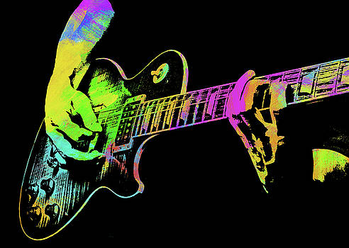 Ricky Barnard - Abstract Guitar Paint IV