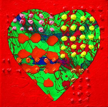 Abstract Haert 80218 by John  Nolan