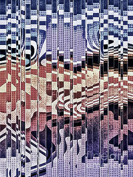 Abstract Halftones Collage by Phil Perkins
