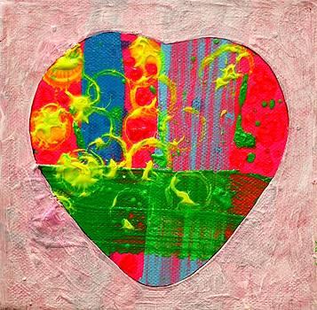 Abstract Heart 310118 by John  Nolan