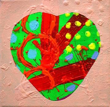 Abstract Heart 40218 by John  Nolan