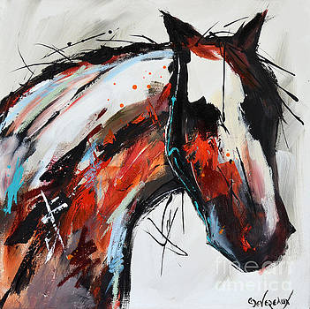 Abstract Horse 14 by Cher Devereaux