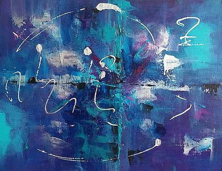 Abstract I by Crystal Stagg