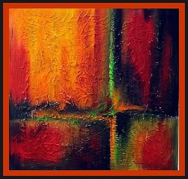 abstract I by Kneki Krtukaj