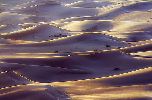 Silk sand by Khaled Hmaad