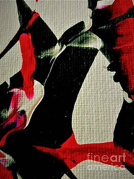 Abstract In Red And Black by Jacqueline McReynolds