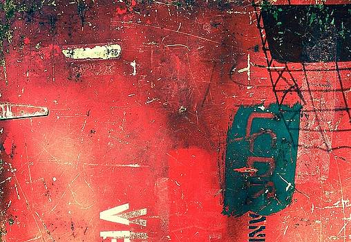Abstract in Red by Wendell Lowe