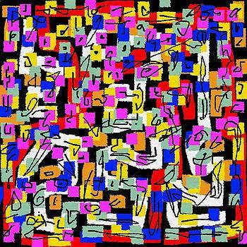 Abstract laberinto 2 by Eliso Ignacio Silva