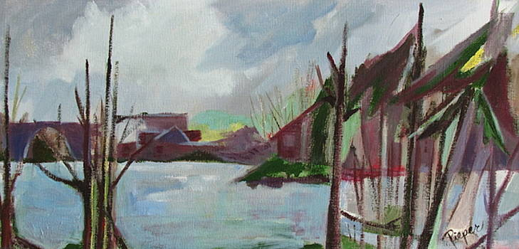 Betty Pieper - Abstract Landscape