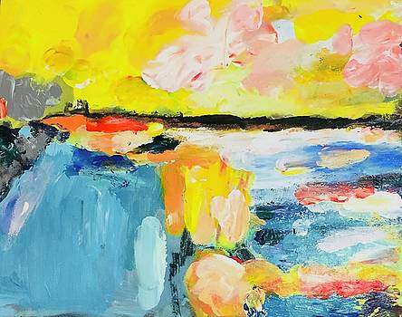 Abstract Landscape by Carol Stanley