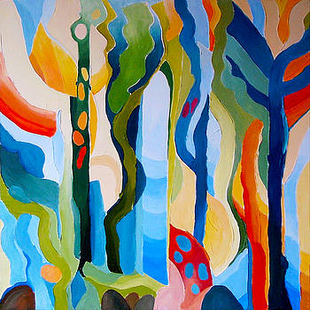 Abstract Landscape by Carola Ann-Margret Forsberg