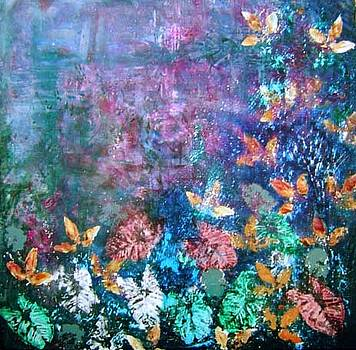 Abstract Landscape by Gayle Bell