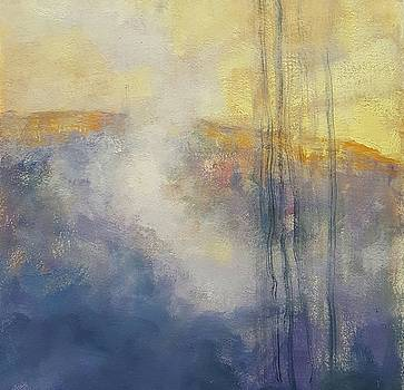 Abstract landscape by Kelly Lanning Phipps