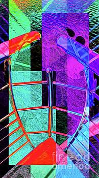 Abstract Lines of Color #2 by Ian Gledhill