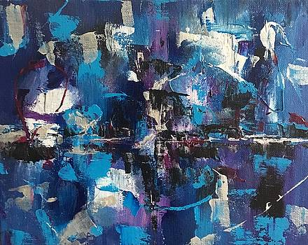 Abstract II by Crystal Stagg