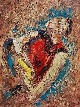 Abstract Man by Beth Maddox