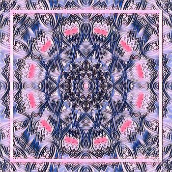 Abstract Mandala Pattern by Lita Kelley