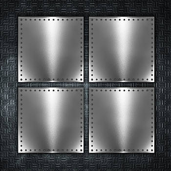 Valdecy RL - Abstract Metal Square