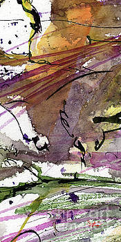 Ginette Callaway - Abstract Modern Organic Watercolor and Ink 3