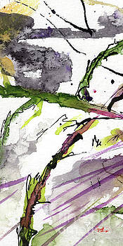 Ginette Callaway - Abstract Modern Organic Watercolor and Ink 5