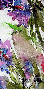 Ginette Callaway - Abstract Modern Organic Watercolor and Ink 8