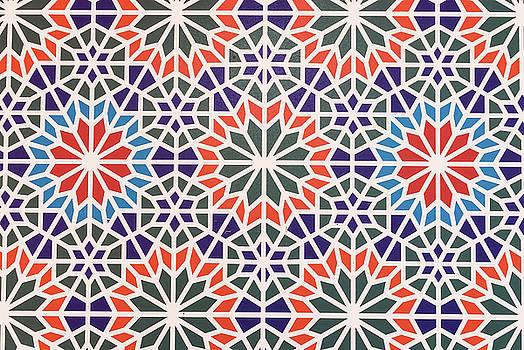 Valdecy RL - Abstract Moroccon Tiles Colorful