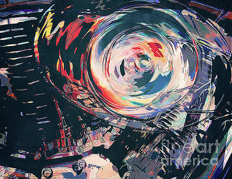 Abstract Motorcycle Engine by Phil Perkins