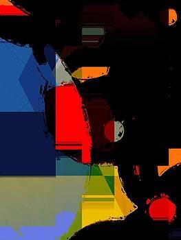 Abstract Night by Cooky Goldblatt