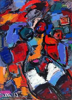 Abstract Nude 05 by Len Yurovsky
