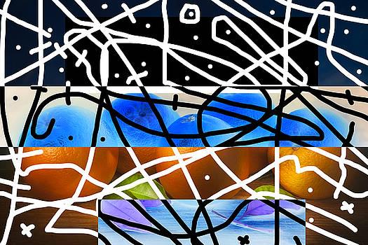Abstract Oranges by Matjaz Preseren